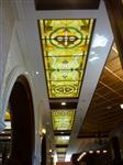 圆爵彩绘穹顶灯壁灯