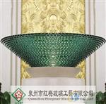 叠层玻璃花盆灯罩水盆