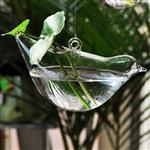 小鸟玻璃花瓶018