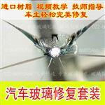 简易型汽车前挡风玻璃裂痕修复工具