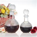 玻璃酒瓶鉆石瓶