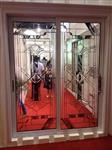 专业供应移门,木门高品质镶嵌玻璃