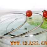 high quality C type tempered glass lid
