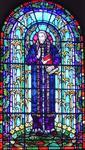 彩绘教堂玻璃;