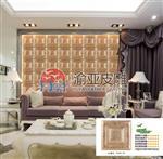 重庆皮雕艺术背景墙