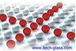 掺银纳米粒子玻璃基片