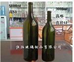 10斤墨绿色葡萄酒瓶