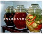 吹制8斤玻璃泡菜坛子