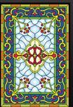 镶嵌门窗玻璃