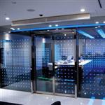 LED双钢化发光玻璃隔断