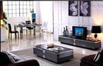 5-12mm黑色钢化玻璃家具