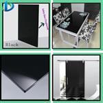 黑白图案钢化玻璃桌面