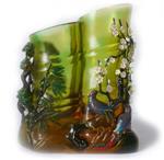 玻璃手绘效果水性漆