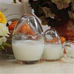 雞蛋殼布丁瓶