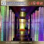 水晶柱装饰水晶柱