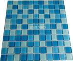 工程项目泳池装饰水晶玻璃马赛克