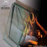 Complex fire resistant glass