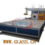 Corrugated pipe belling machine SGK250P