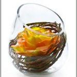 artificial flower hanging basket FL-04