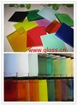 彩色夾膠玻璃