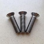 Tianium Countersunk Head Screws