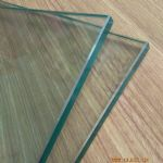 Tempered glass for doors and windows