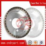 Diamond wheel for glass