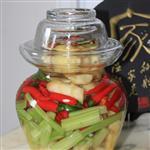 玻璃酱菜瓶自酿罐玻璃瓶