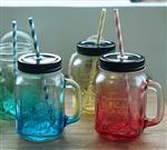 公司生产各种规格玻璃把子杯