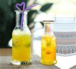 饮料瓶玻璃瓶冰橘瓶