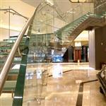 广州防滑玻璃踏步价格