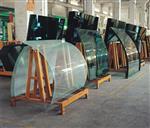 西藏拉萨弯钢化玻璃