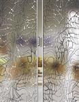 冰雕钛金玻璃