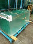 厂家直销无锡耀皮19mm超白超宽钢化玻璃