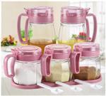 玻璃厂家生产玻璃调味罐