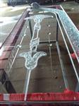 工艺玻璃门窗上用玻璃珠粘接用透明胶水