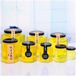 六棱蜂蜜瓶果酱瓶酱菜瓶