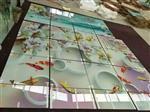 庆阳艺术玻璃背景墙