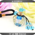 琉璃精油瓶女士项链