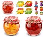 开发定做各种罐头玻璃瓶配套盖子