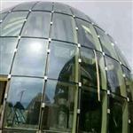 建筑幕墙双曲面玻璃