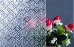 海棠花壓花鋼化玻璃