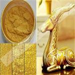 超闪亮玻璃颜料用金色珠光粉