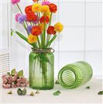 彩色竖条花瓶