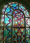 彩色镶嵌玻璃 教堂玻璃