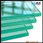 3.5mm Flat tempered glass for refrigerat