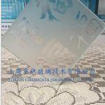 No Finger printing Glass Frosting Powder
