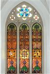 教堂玻璃彩色花窗