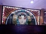 艺术玻璃 彩绘背景墙