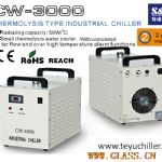 S&A water cooled chiller for lamp uv le